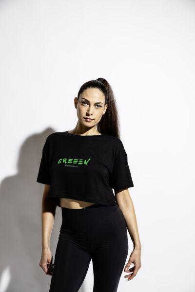 Girly T-Shirt schwarz